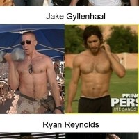 Body Transformations Of Famous Film Stars