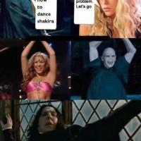 Voldermort Dancing With Shakira
