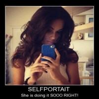 Self Potrait Doing Right