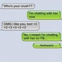 Friendzoned While Texting! !!awkward!!