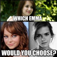 Which Emma You Will Choose