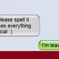 Pwned By Girlfriend Epic Breakup Text Win!