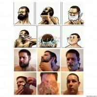 Copying A Shaving Meme.