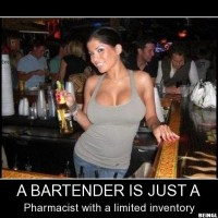 A Bartender Is Just A