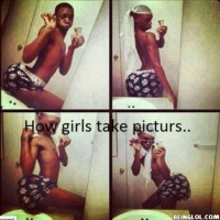 How Girls Take Pictures For Fb In 2013