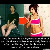 Did You Know That A 46-year-old Korean Mum Managed To Turn Herself Into…