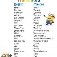 Minions Language