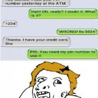 I Saw Your Pin Number Yesterday