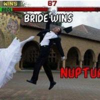 Bride Wins !!