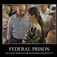 Federal Prison Awaits