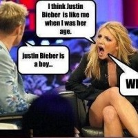 When She Found Justin Bieber Is A Boy !