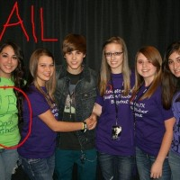 Epic Justin Bieber Fan Fail