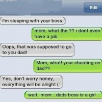 I'm Sleeping With Your Boss.