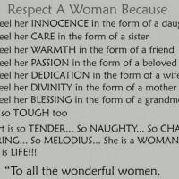 Respect a Women