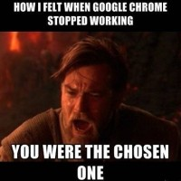 When Google Chrome Stopped Working