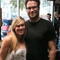 Just Seth Rogen With A Fan... Wait What!