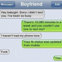 That Girlfriend Is Clever.