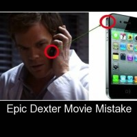 Dexter Movie Mistake