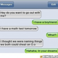 Trustworthy Girlfriend!