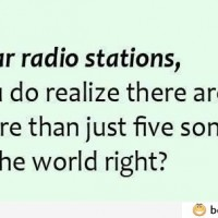 Dear Radio Stations