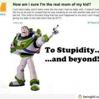 To Stupidity