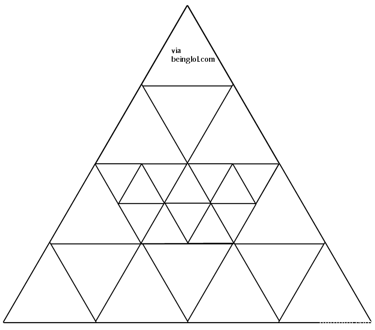 How Many Triangles are in the Picture?
