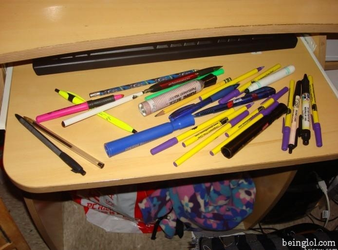 Guess the number of pens