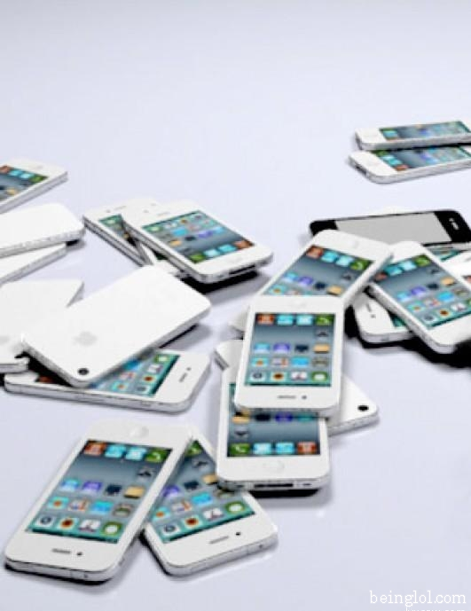 How many white iPhones are there?