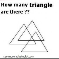How many triangle are there?