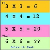 What is 6 x 6 ?