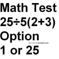 What is 2/5(2+3) ?