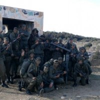 What is the number of the Tunisian female soldiers in the picture?
