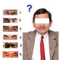 Guess Mr Bean's Eyes