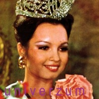 What year Margarita Moran won the crown of miss universe?