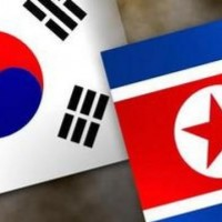 In what year were South Korea and North Korea divided?